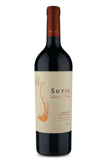 Sutil Limited Release Valle de Maipo Cabernet Sauvignon 2017