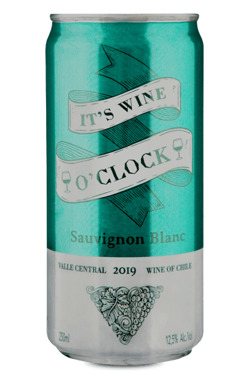 It's Wine O'Clock Sauvignon Blanc 2019 Lata 250 ml