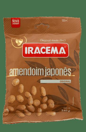 Amendoim Japonês Iracema Sachê 140 g