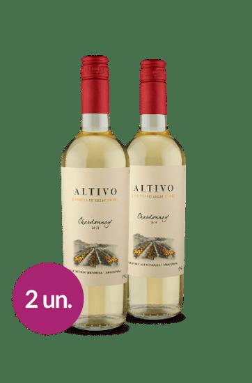 Leve 2, Pague 1 - Altivo Vineyard Selection Chardonnay 2018