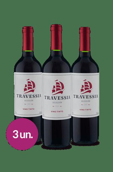 WineBox Concha y Toro Travessia Selección Assemblage Tinto (3 Garrafas)