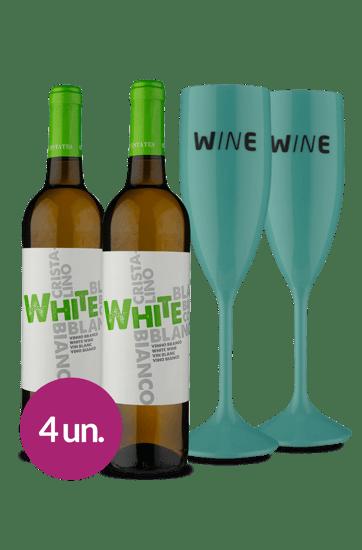 WineBox Duo D. Joana + Taças