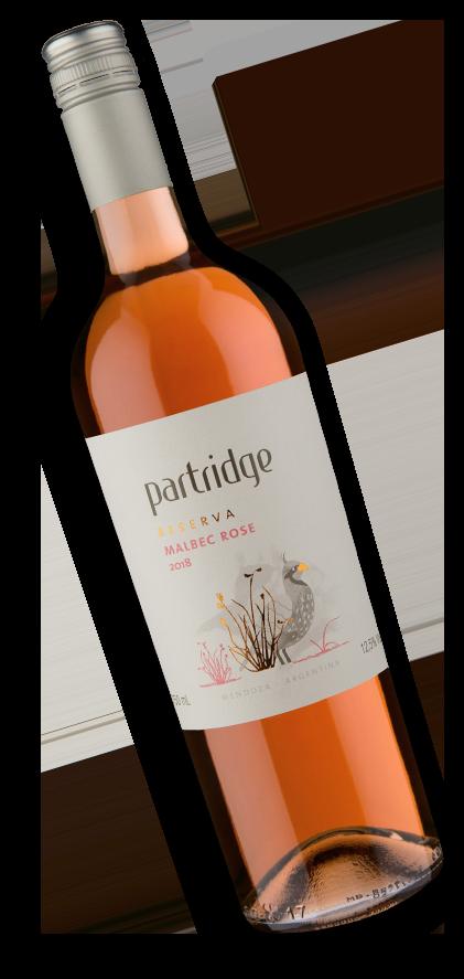Partridge Reserva Malbec Rosé 2018