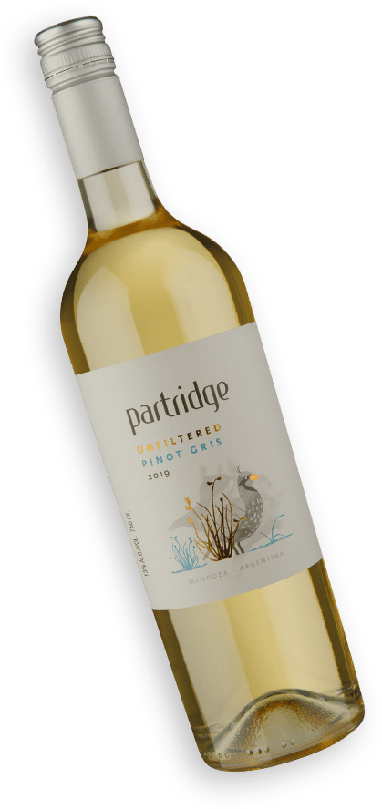 Partridge Unfiltered Pinot Gris 2019