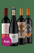 Kit Tintos Intercontinental Estoque Zero (4 garrafas)