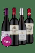 Kit Tintos Franceses (4 garrafas)