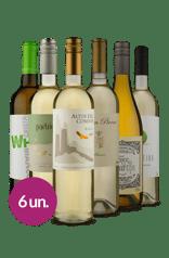Kit Brancos Europeus & Argentinos (6 garrafas)