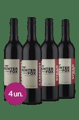 Kit Hunter And Fox: Cabernet & Syrah (4 garrafas)