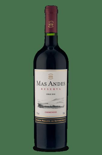 Baron Philippe de Rothschild Mas Andes Reserva Carménère 2018