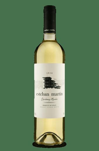 Esteban Martín D.O.P. Cariñena Chardonnay Macabeo Blanco 2019