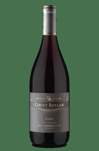 Court Rollan Genus D.O. Cachapoal Valley Syrah 2018