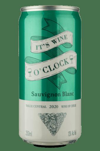 Its Wine OClock Sauvignon Blanc 2020 Lata 250 mL