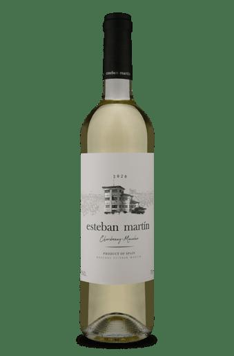 Esteban Martín D.O.P. Cariñena Chardonnay Macabeo Blanco 2020