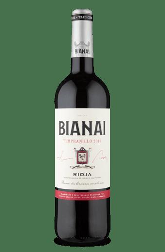 Bianai D.O.Ca. Rioja Tempranillo 2019