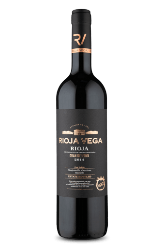 Rioja Vega Gran Reserva Rioja D.O.C Tempranillo Graciano Mazuelo 2014