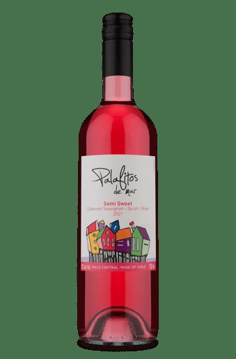 Palafitos de Mar Semi Sweet Rosé Cabernet Sauvignon Syrah 2021