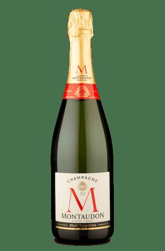 Champagne Montaudon Brut.