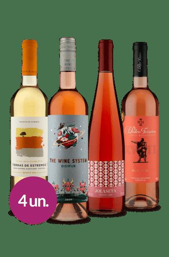 Kit Refrescantes Seleção Wine (4 garrafas)