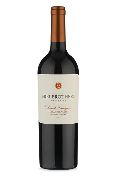 Frei Brothers Reserve Alexander Valley Cabernet Sauvignon 2012
