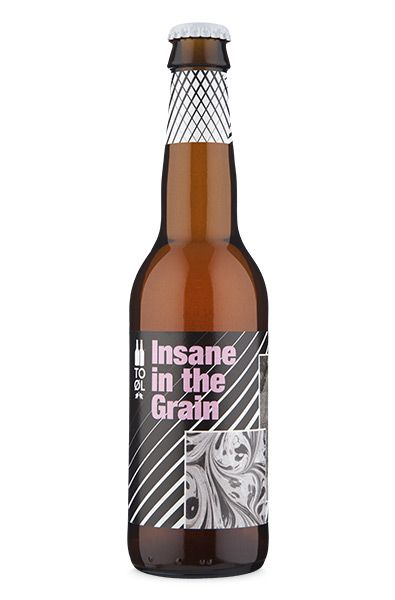To Øl Insane In the Grain - 330ml