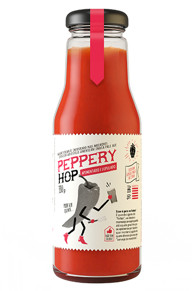 Molho Peppery Hop Brewer Chef 330g