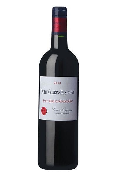 Petit Corbin-Despagne Saint-Émilion Grand Cru 2010 - Wine Vinhos