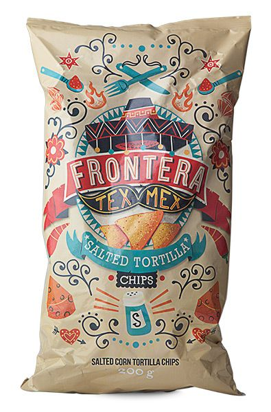 Tortilla Chips Frontera Tex Mex - 200g