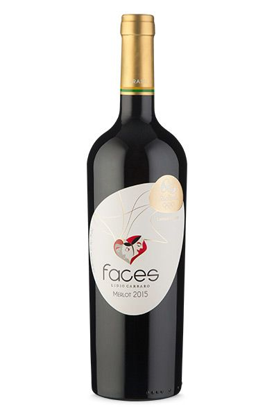 Lidio Carraro Faces Merlot  - 2015