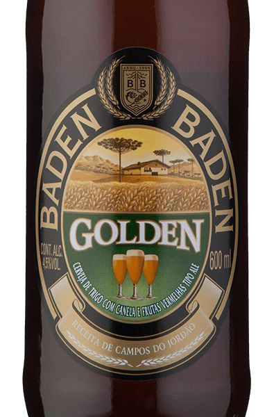 Baden Baden Golden Ale Herb and Spice Beer 600 ml