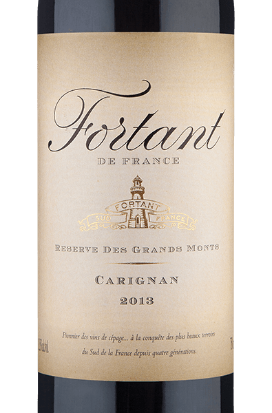 Fortant De France Reserve Des Grands Monts Carignan 2013