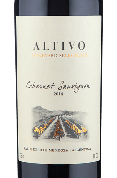 Altivo Vineyard Selection Valle de Uco Cabernet Sauvignon 2014