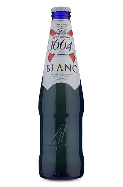 Kronenbourg 1664 Blanc Wheat Beer - 330 ml