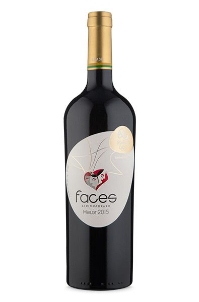 Lidio Carraro Faces Limited Edition Merlot 2015