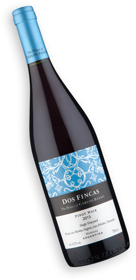 Bodega Amalia Dos Fincas Single Vineyard Pinot Noir 2015