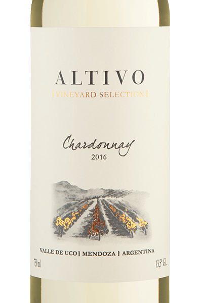 Altivo Vineyard Selection Valle de Uco Chardonnay 2016