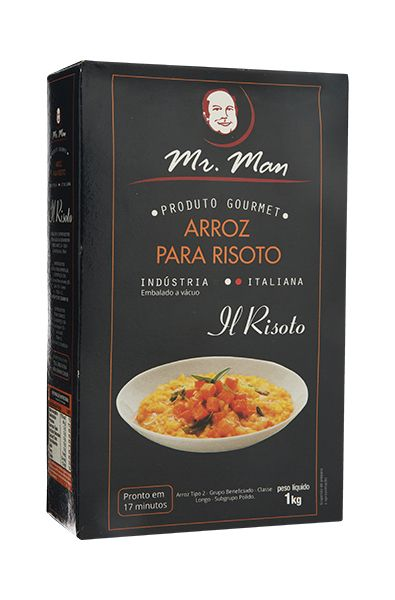 Mr. Man Arroz para Risoto 1 Kg