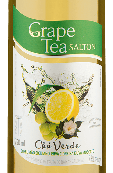 Salton Grape Tea com Limão Siciliano, Erva Cidreira e Uva Moscato 750 ml