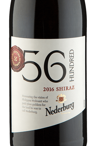 Nederburg 56 Hundred Shiraz 2016