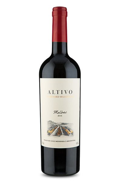Altivo Vineyard Selection Malbec 2015