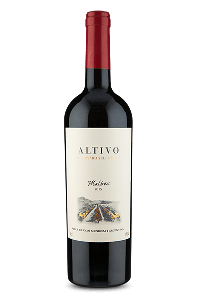 Altivo Vineyard Selection Valle de Uco Malbec 2015