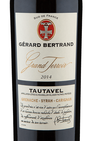 Gérard Bertrand Grand Terroir A.O.P. Côtes du Roussilon Villages Tautavel 2014