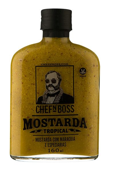 Molho Spicy Passion Mustard Chefnboss 160ml