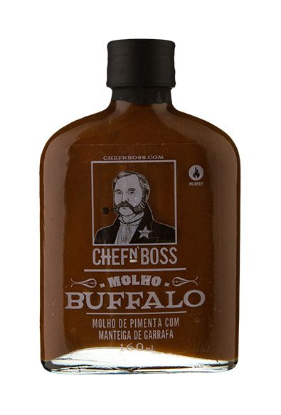 Molho Country Buffalo Sauce ChefN`Boss 160 ml