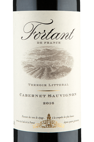 Fortant De France Terroir Littoral Cabernet Sauvignon 2016