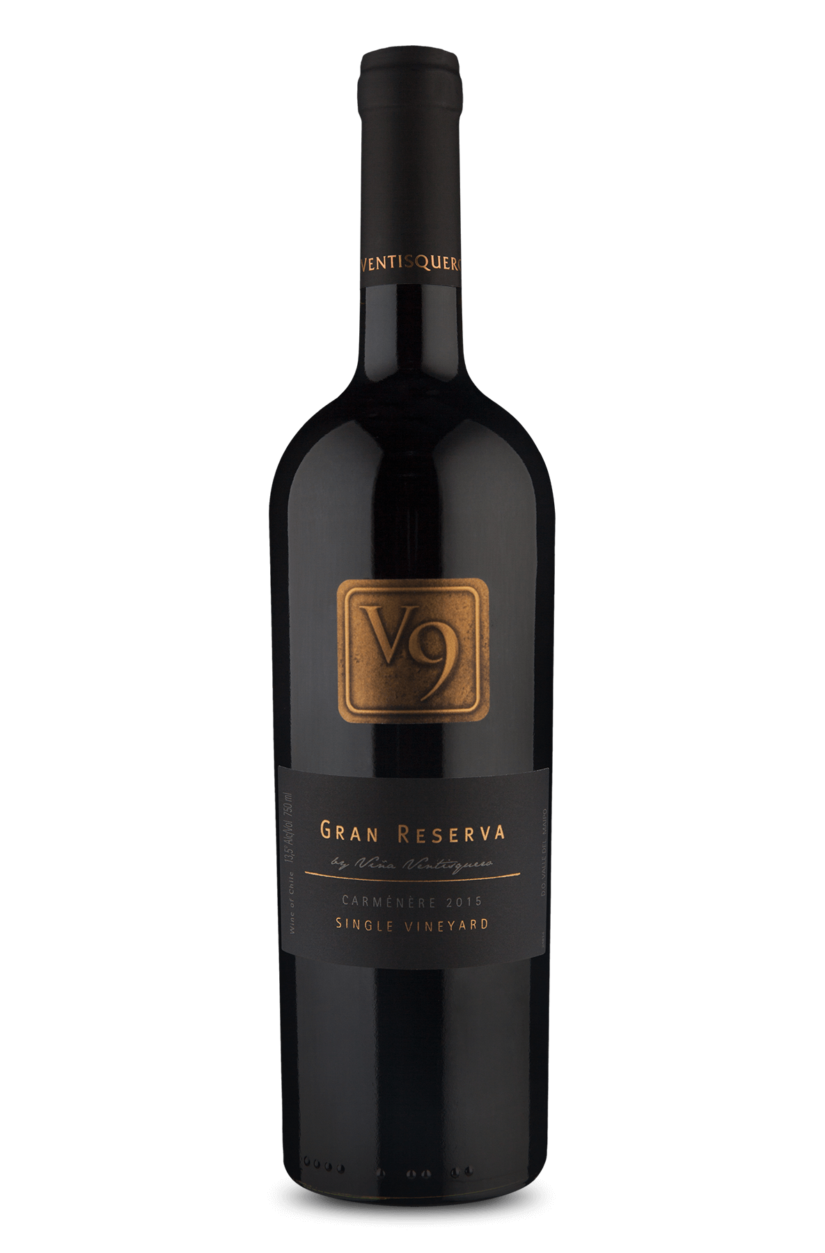 V9 Single Vineyard Gran Reserva Carménère 2015