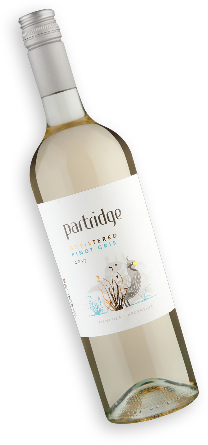 Partridge Unfiltered Pinot Gris 2017
