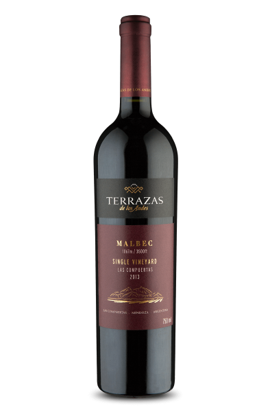 Terrazas de Los Andes Single Vineyard Malbec 2013