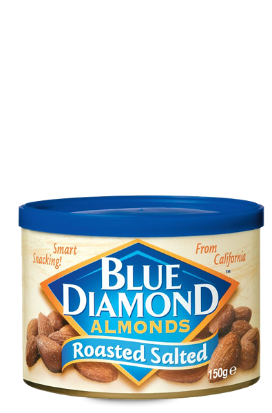 Amêndoas Roasted Salted Blue Diamond 150 g