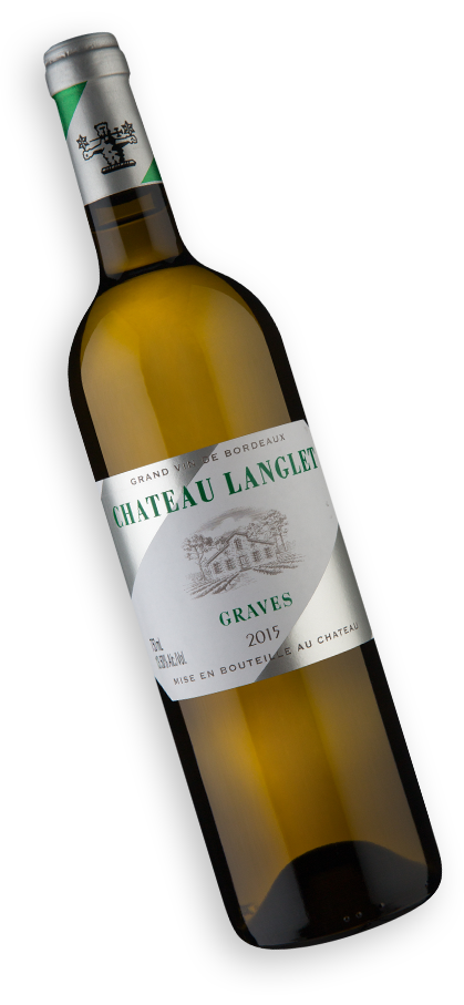 Chateau Langlet A.O.C. Graves Blanc 2015