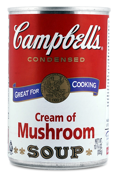 Sopa Campbell`S Cream Of Mushroom 295g